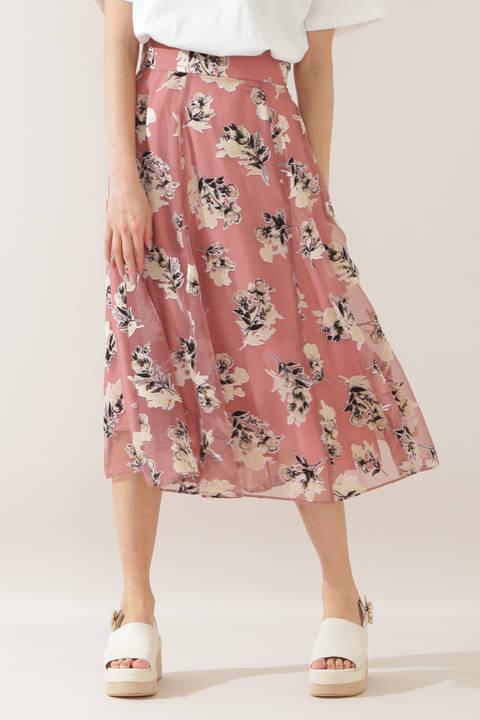 シャドーブーケスカート