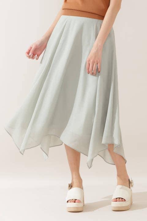 カラーボイルスカート