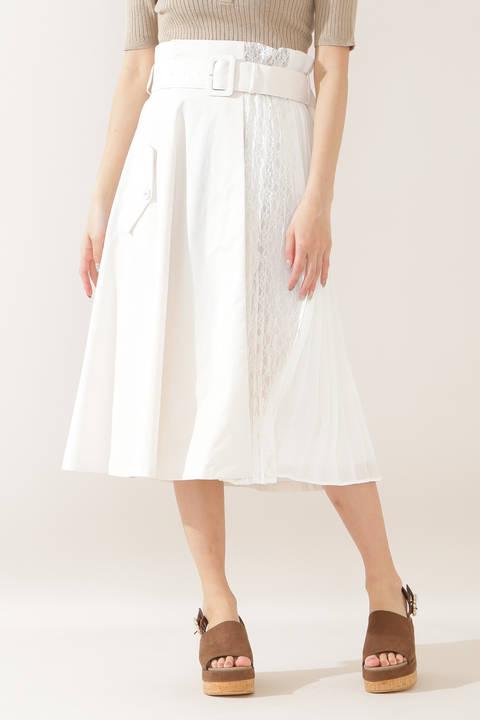 トレンチミックススカート
