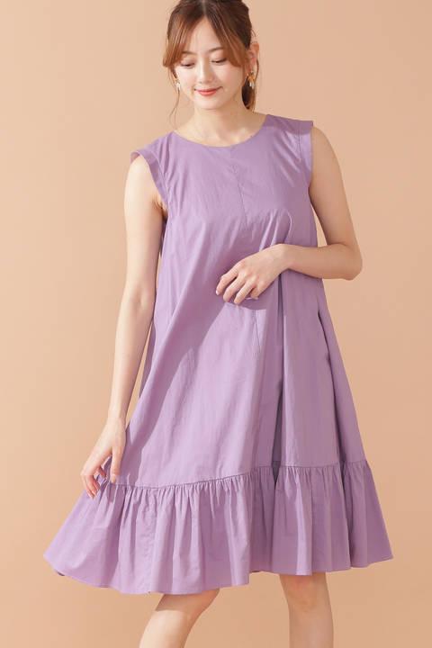 クロスバックミニドレス