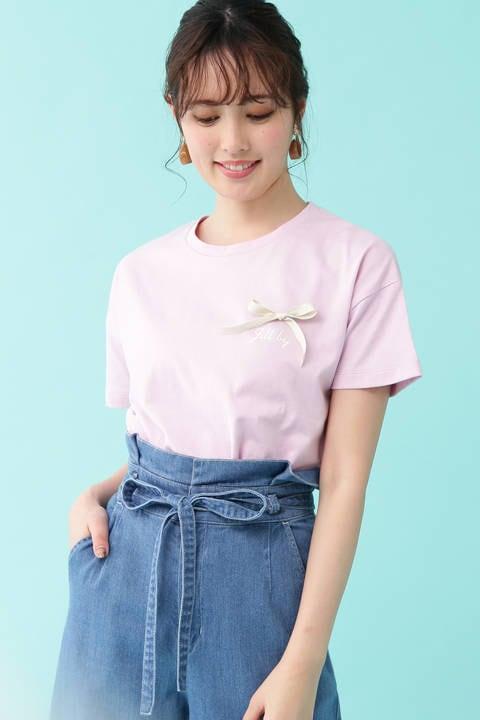 ミニロゴリボンTシャツ