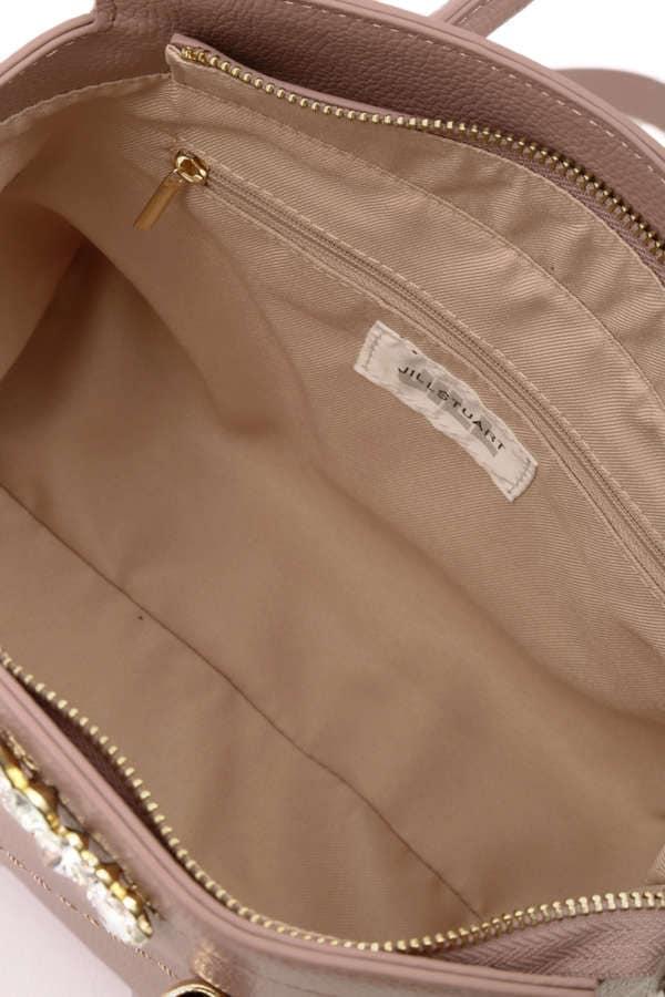 【Ray3月号掲載】【CanCam1月号掲載】【sweet11月号掲載】ビジューロイヤルトートバッグ