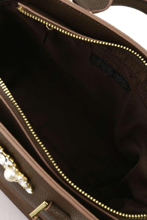 【美人百花3月号掲載】【美人百花2月号掲載】【Ray2月号掲載】ビジューグレイスショルダーバッグ