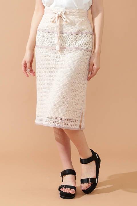 ヴィンテージクロシェタイトスカート