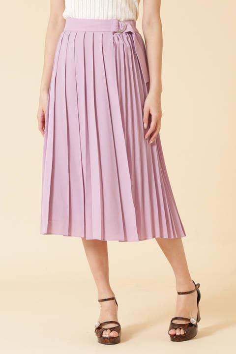 ミックスプリーツスカート
