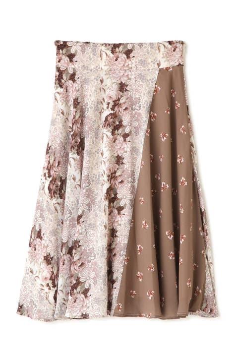 ミックスローズスカート