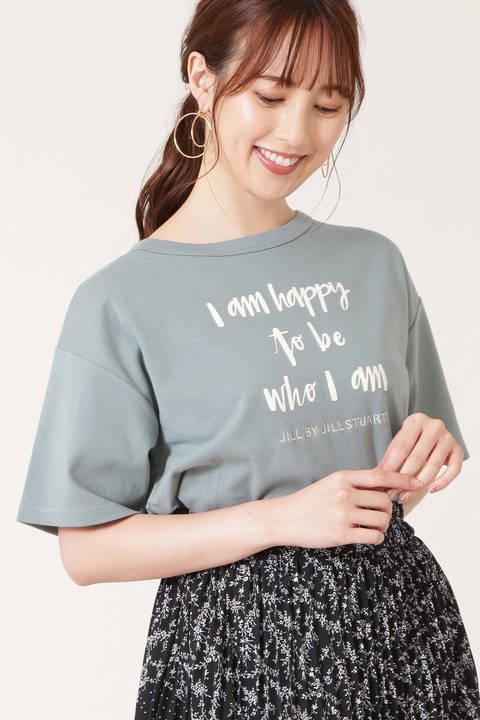 オータムレースアップユルTシャツ