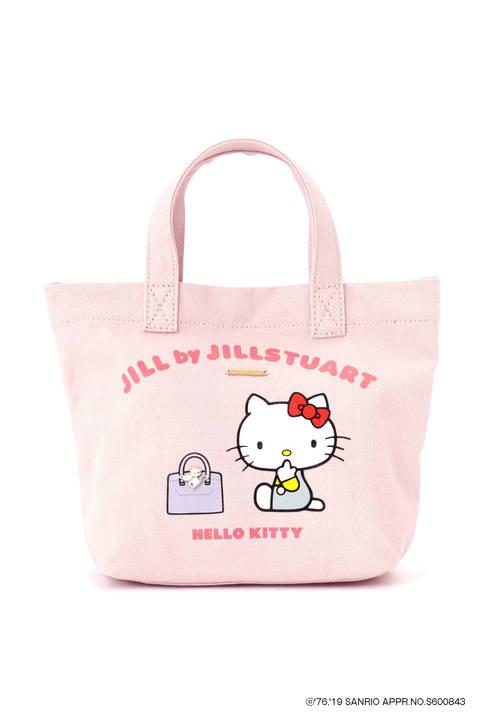 【先行予約 7月上旬-7月中旬入荷予定】ハローキティ×JILL by JILLSTUART コラボトートバッグ
