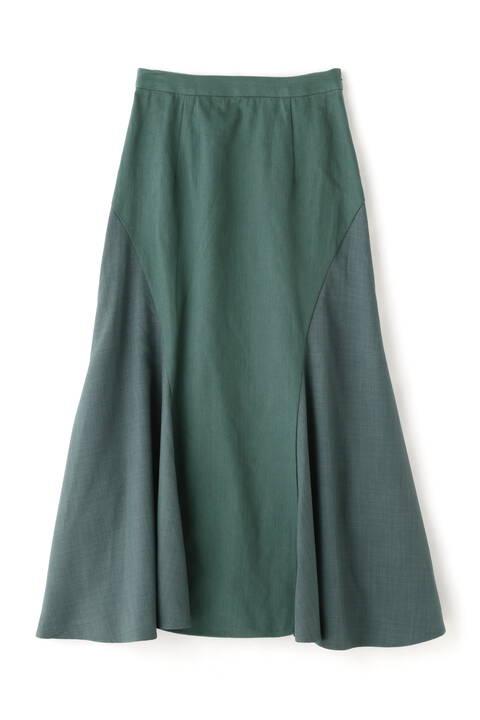 異素材MIXマーメイドスカート