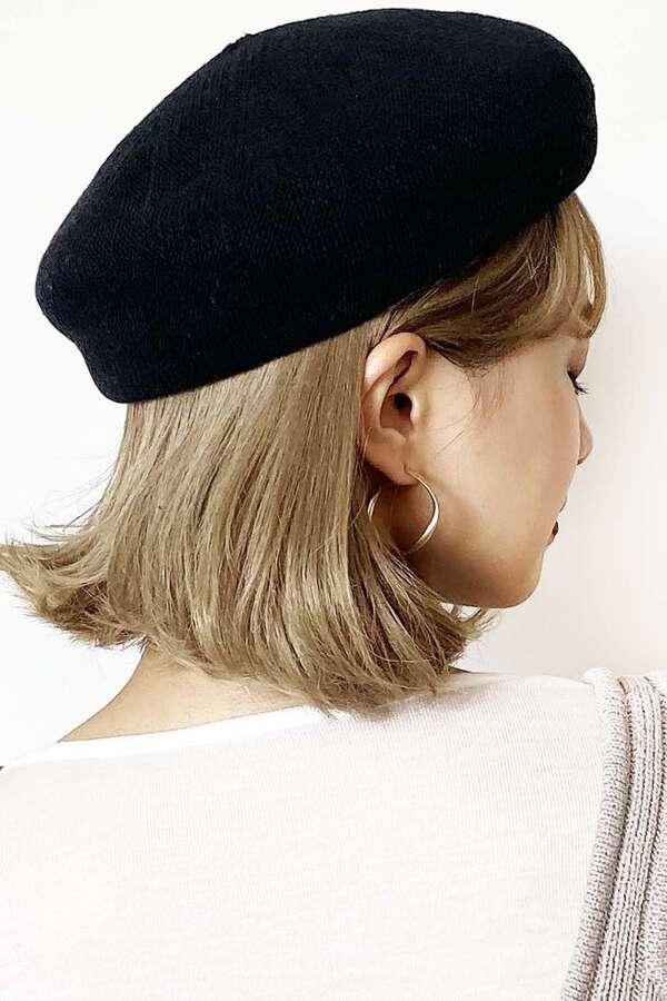 コットンサーモベレー帽