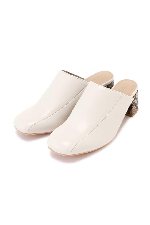 【公式/フリーズマート】スリッパサンダル/女性/靴/ホワイト/サイズ:M/(甲皮の使用材)合成皮革(底材の種類)合成底