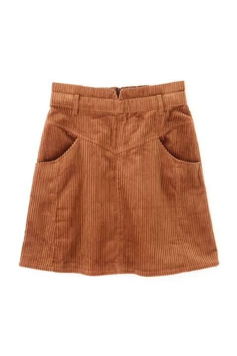 【セットアップ対応】コーディロイパネル替ミニスカート