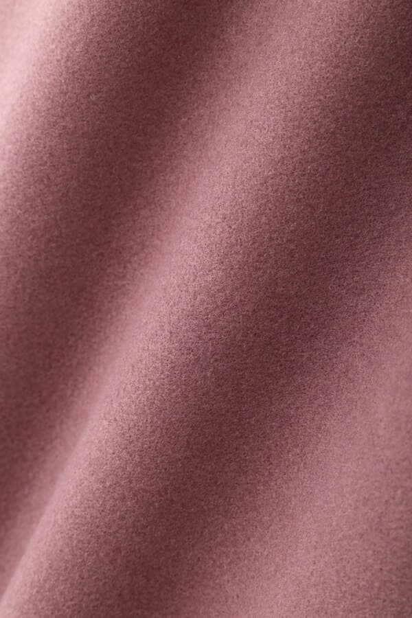 《Sシリーズ対応商品》ジャージメルトンショールカラーコート