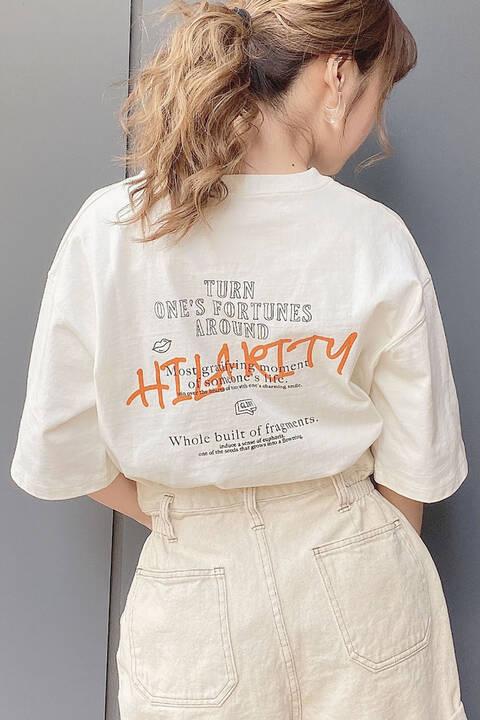 【追加生産予約6月上旬-6月中旬入荷予定】グラフィティロゴTシャツ