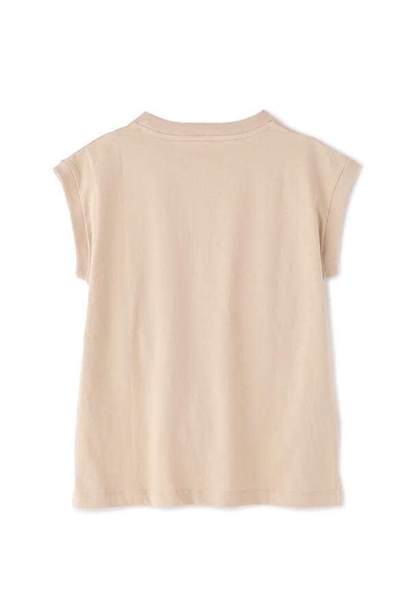 USAコットンフレンチクルーネックTシャツ