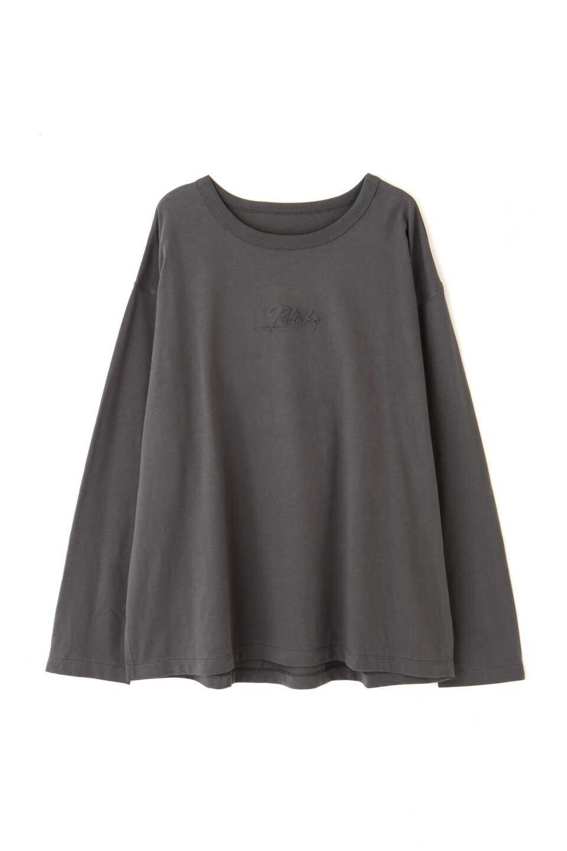 【公式/フリーズマート】エンボスロゴバックフォトプリントTシャツ/女性/カットソー/スミクロ/サイズ:FR/コットン 100%
