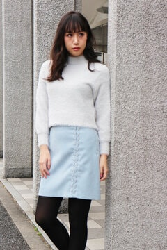 編みあげスカート