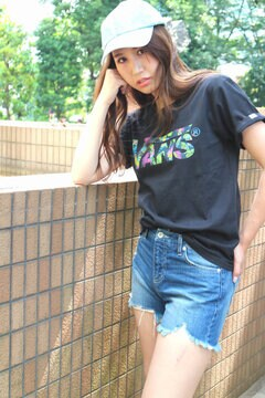 【VANS】コラボリゾートロゴTee