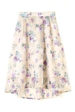 オパールフラワースカート