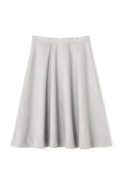 起毛カラーフレアスカート