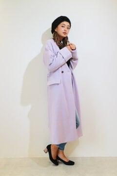 【 CanCam12月号 AAA宇野ちゃん着用】シャギーロングコート