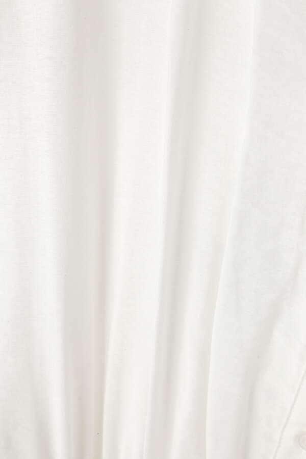 ブラウジング半袖ブラウス