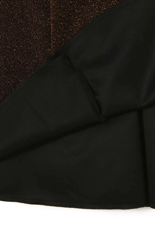 ラメフレアースカート