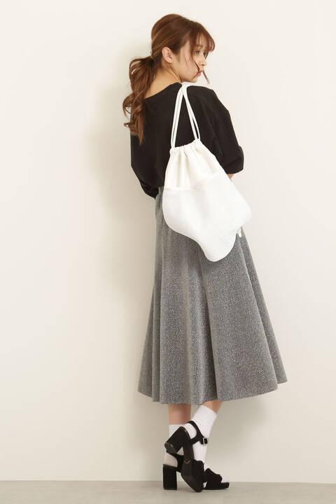 【先行予約3月下旬入荷予定】ラメフレアースカート