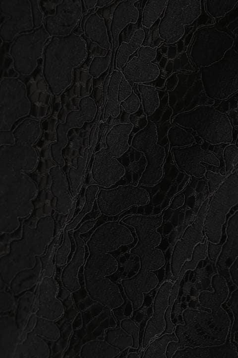 【美人百花 岸本セシル着用】【andGIRL中村アン着用】レースペンシルミディースカート
