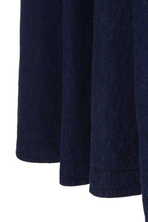 【sweet3月佐藤栞里さん着用】【andGIRL3月号掲載】ロングサーキュラーデニムスカート