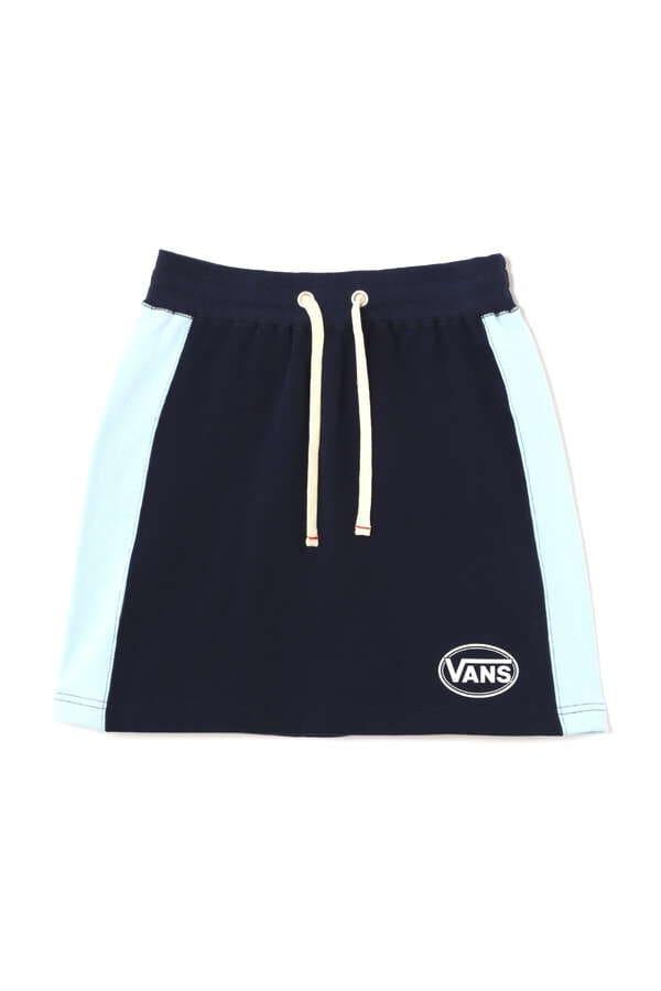 VANSカラーブロックスカート