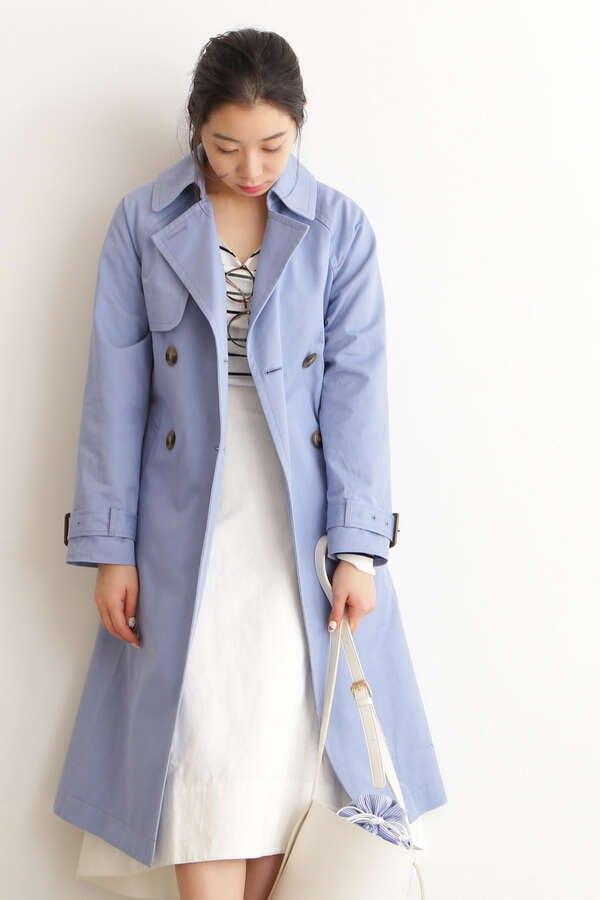 【sweet3月号佐藤栞里さん着用】ラグラントレンチコート