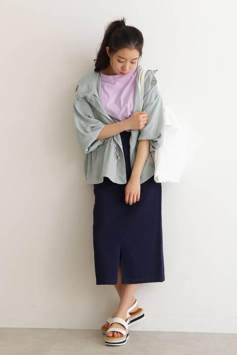 【先行予約3月下旬入荷予定】USAコットンシリコンバイオクルーネックTシャツ