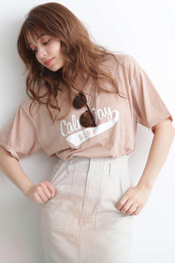 【先行予約5月中旬入荷予定】ネップBIGロゴTシャツ