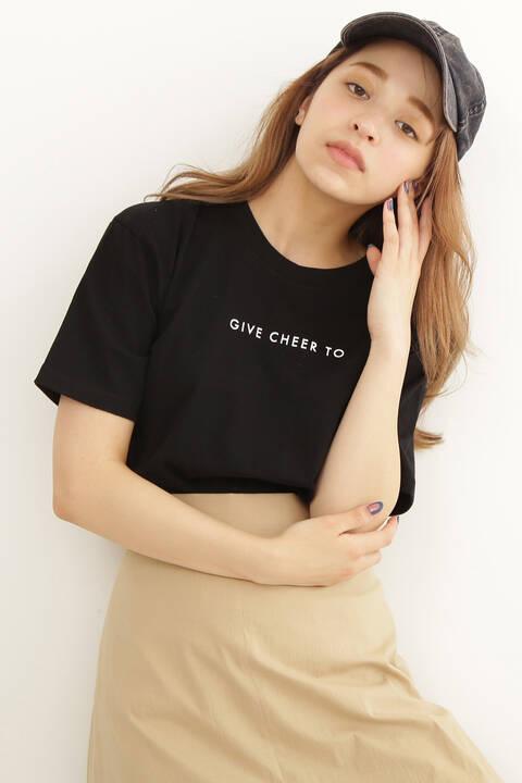 ラバーロゴコンパクトTシャツ