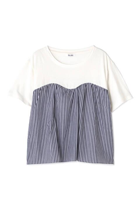 ビスチェドッキングシャツ
