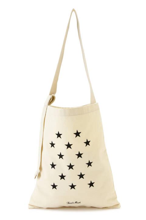 星柄ワンショルトートバッグ