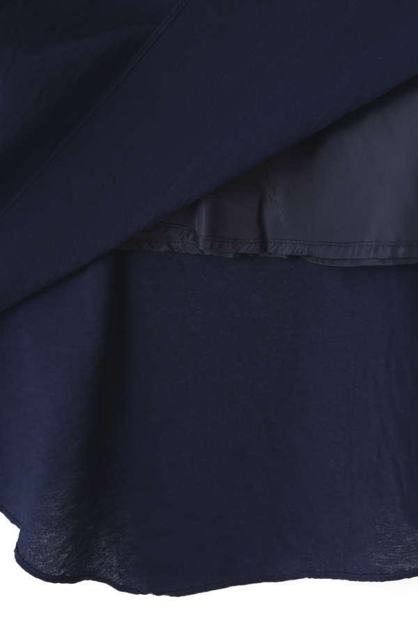 シャーリングイレヘムスカート