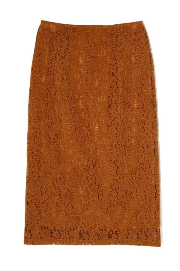 フロッキーレースタイトスカート