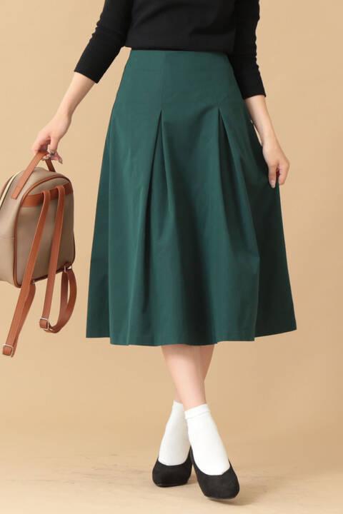 ボックスタックフレアスカート