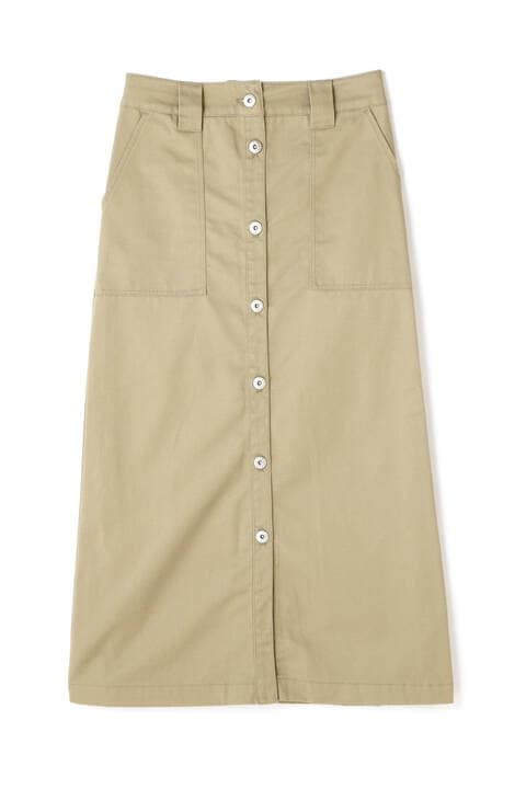 《Dickies》TCツイル前ボタンロングスカート