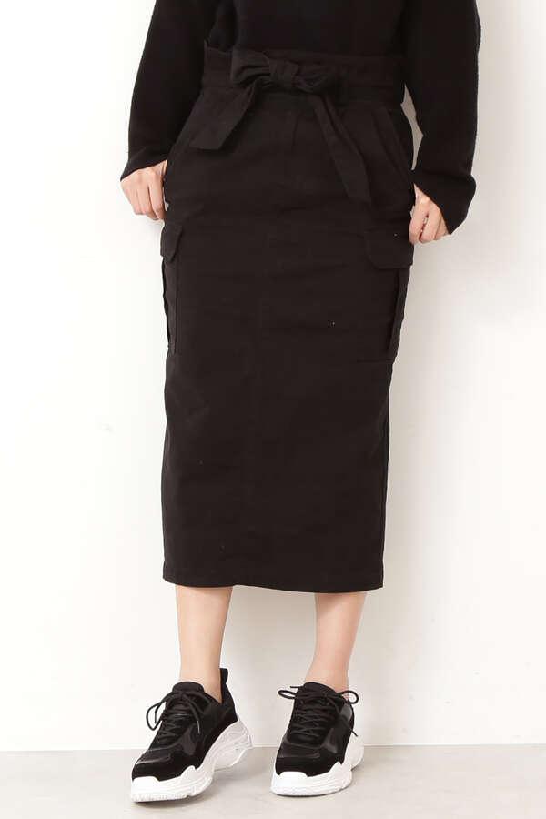 《Dickies》綿ストレッチロングスカート