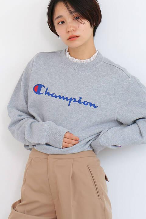 《Champion》クルーネックロゴスウェット