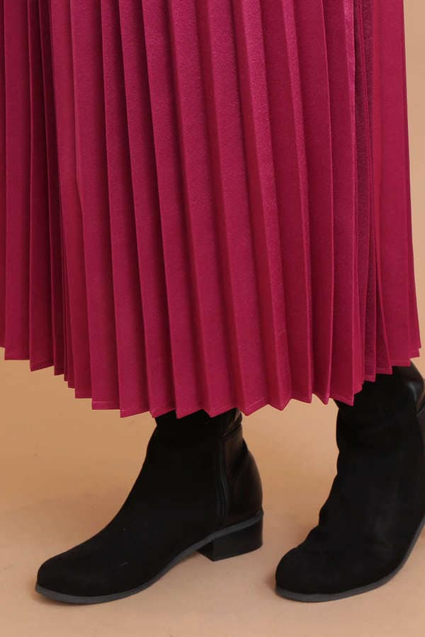アコーディオンプリーツスカート