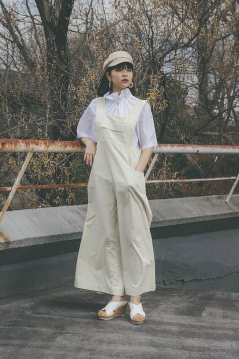 〔田中芽衣監修〕胸ポケットワイドコンビネゾン