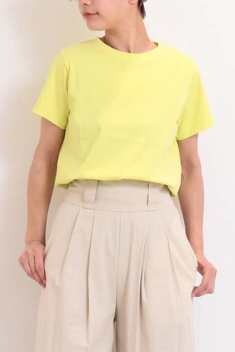 カルフォルニアコットンクルーネックTシャツ