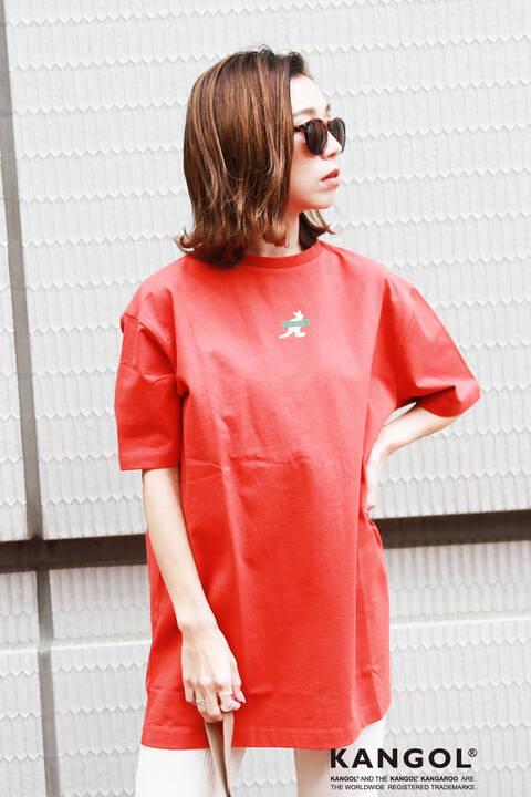 <KANGOLコラボ>チュニックTシャツ
