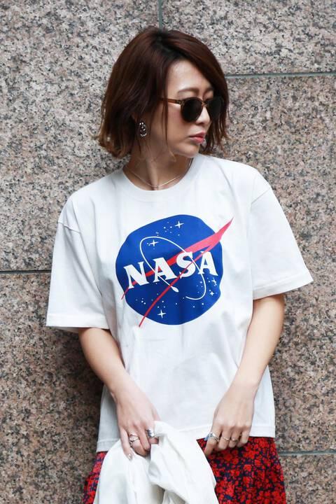 《NASA》ミートボールロゴTシャツ
