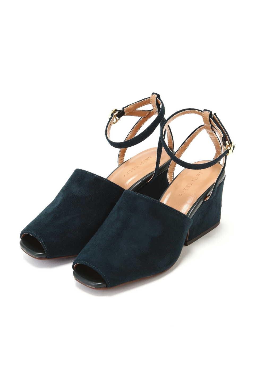 【公式/フリーズマート】アンクルストラップサンダル/女性/靴/グリーン/サイズ:L/