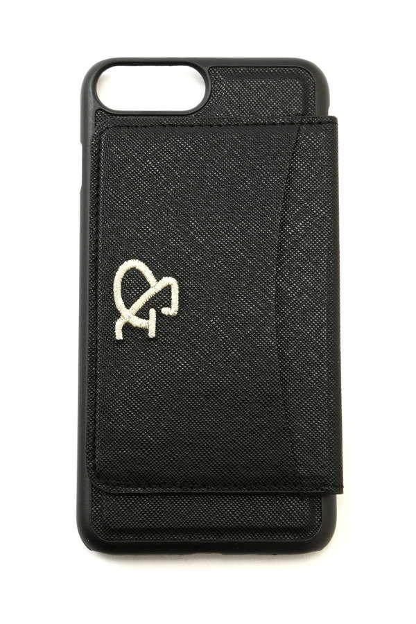 iPhone7プラス カード入れ付きカバー